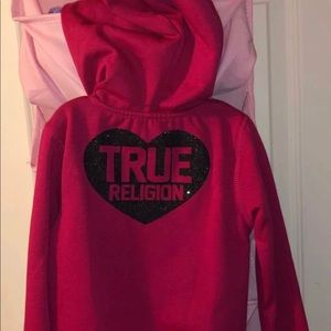 NWT True Religion matching outfit 3T